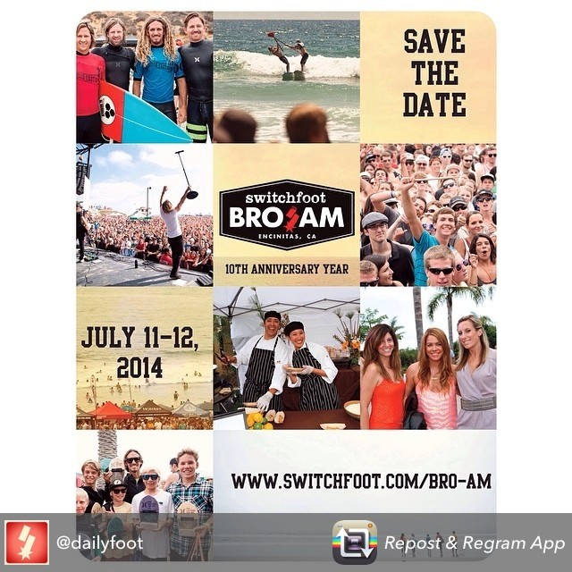 Who is going to the Bro Am this weekend in Encinitas?? The goFlow team will be there on Saturday and we hope to see you there! #broam #SwitchfootBroAm #BroAm2014 #goflow