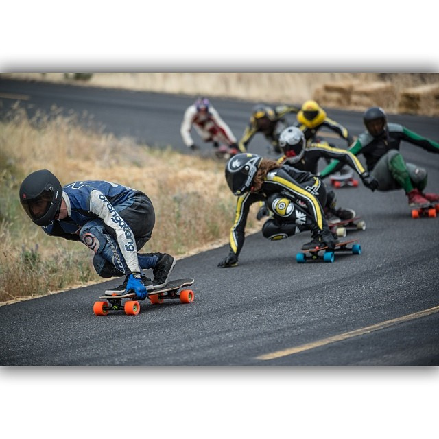 @maximgarant leading a stacked pack down #Maryhill #Cantellated #Tesseract @orangatangwheels #Kegel