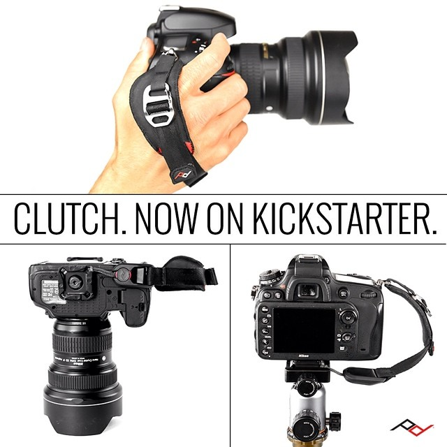 4000 backers and counting! The #photography world has spoken, and they're saying that they kinda like our new #handstrap, #Clutch Preorder on #Kickstarter today: pkdsn.com/ks