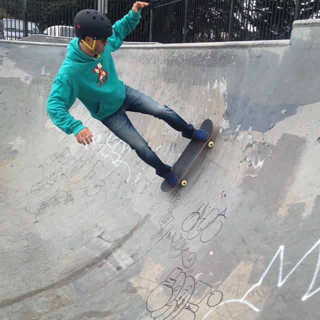 Saturday in the park #skatepark #skateboarding #weekend #goodpeople #sanfrancisco #gobigdogood