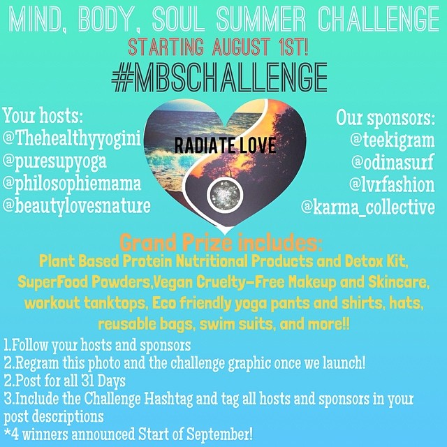 #BikinibodChallenge #cute #bikinis will be given out too!! Follow @puresupyoga @thehealthyyogini @philosophiemama @beautylovesnature #happysummer #happysaturday