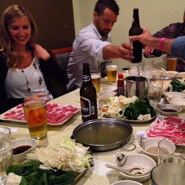 Sake Sake Bomb Bomb #SanFrancisco #weekend #friendsdinner #shabushabu #allyoucaneat #throwbacktocollage