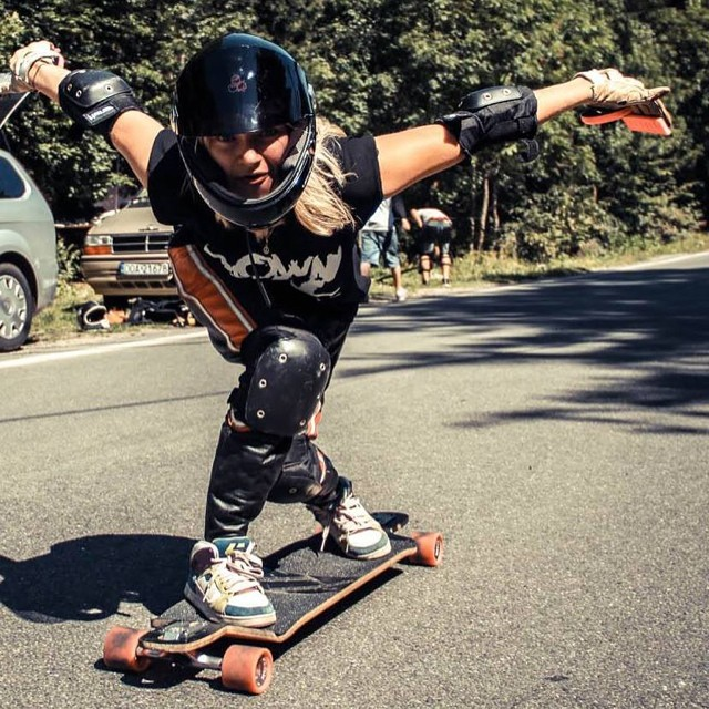 Go to www.longboardgirlscrew.com and check out #longboardgirlscrew #Poland @laura_lgo latest edit. How's your weekend going? Go skate!