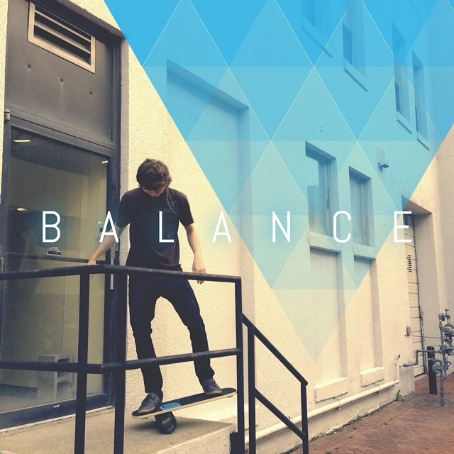 Hope everyone has enjoyed the weekend. Here's a new edit featuring a little #urban balance. #balanceboard