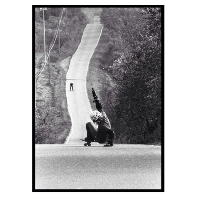 Our lovely #longboardgirlscrew #Italy rider Karin Kerkenbusch shot by David Marsili. Yeah Kari! #girlswhoshred