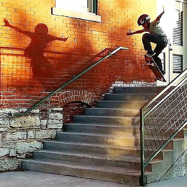 Rad shot of @lawsensk8r #bulthelmets #bult