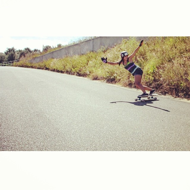 @neena405 Skating a hill in Clermont, FL. Photo: Brett Allen