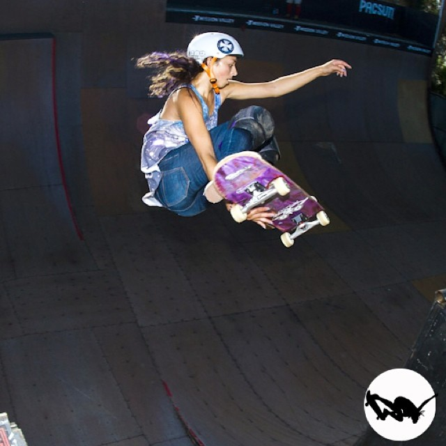 @lizziearmanto, stale channel hop at #EXPOSURE2012. #skateboarding #skateboard #skateboarder #skate #skatelife #skatergirl