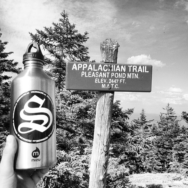 Sometimes you gotta get away. #appalachiantrail #pleasentpondmtn #hike #steezmagazine