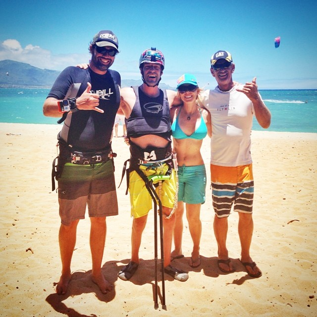 Wind, wife and friends on my mind | @shawnakorgan @paulflymaui @montebell @superflychris | ChoosePositivityNow.com
