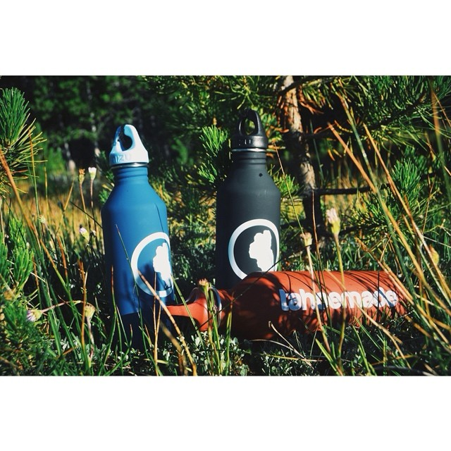 Stay 'Drated :: These stainless steel reusable water bottles are 100% BPA free and built to last // Manufactured by @mizulife who's previously done bottles for Burton, Volcom and Nixon // Available @wanderlustfest this weekend and @squawvalley...
