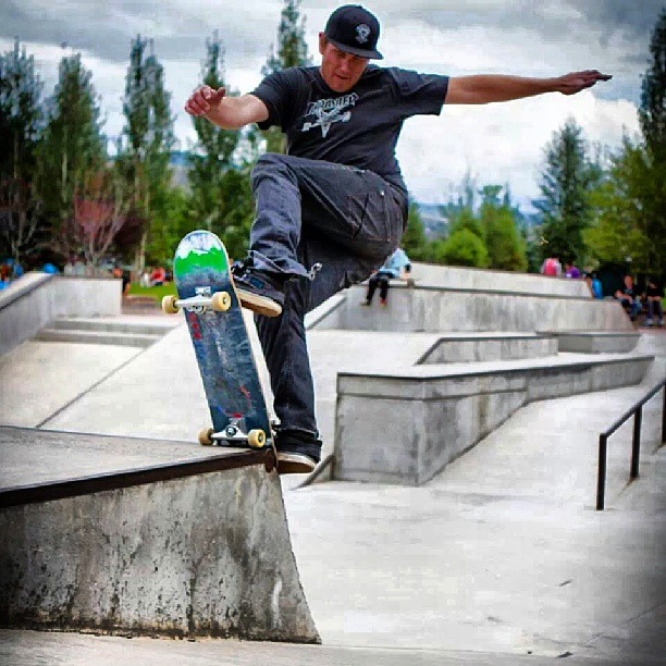 David Pleshaw (aka D.P.) blunt at #WECMRD#coloradoskateboards#eaglskatesupply skateboard contest at #FreedomParkSkatePark in Edwards, Co. yesterday