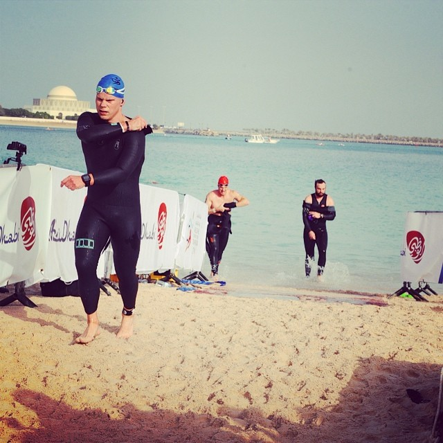 Big Ups to Air Force Colonel Andy Meadows for sporting the Matuse Dojo fullsuit at the recent Abu Dhabi International Triathlon #lovematuse