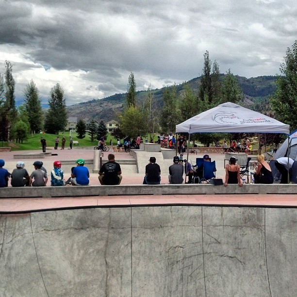 #coloradoskateboards#wecmrd #eagleskatesupply. Contest at Freedom Park Skate Park in Edwards, Co.  yesterday