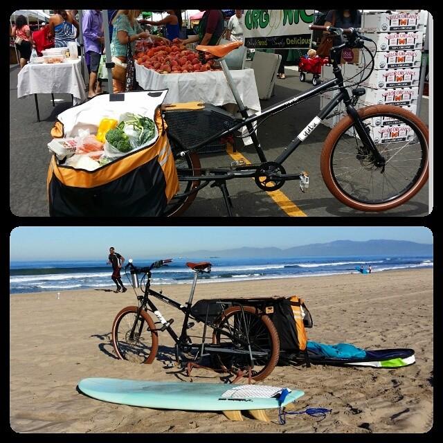 Cargo bike score. #deepbluelife