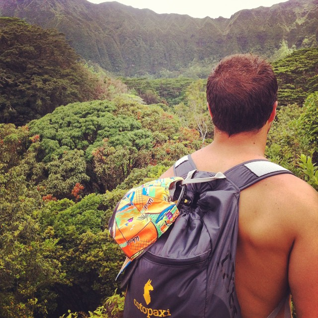 #tbt to a muddy barefoot hike to Maunawili falls on Oahu #cotopaxi