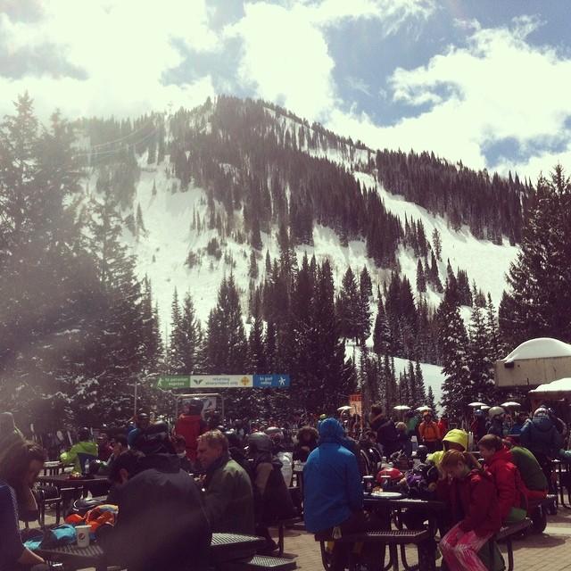 Spring skiing...engage.