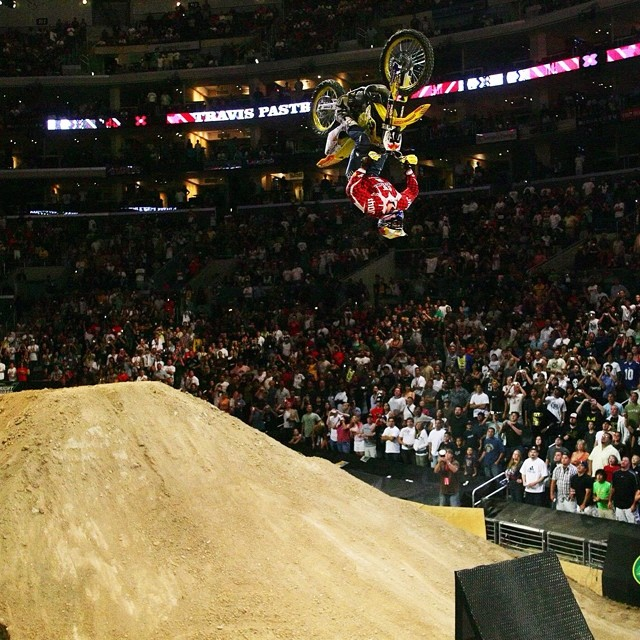 This Saturday on the World of X Games: 20 Years 20 Firsts show we are reliving the top moments in X Games history. How about this one? @travispastrana #DoubleBackflip  Watch the video and more at Xgames.com