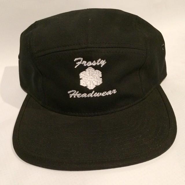 Black OG 5 panel back on sale through www.frostyheadwear.com #frostyheadwear #5panel #5panels #fivepanels #fivepanel
