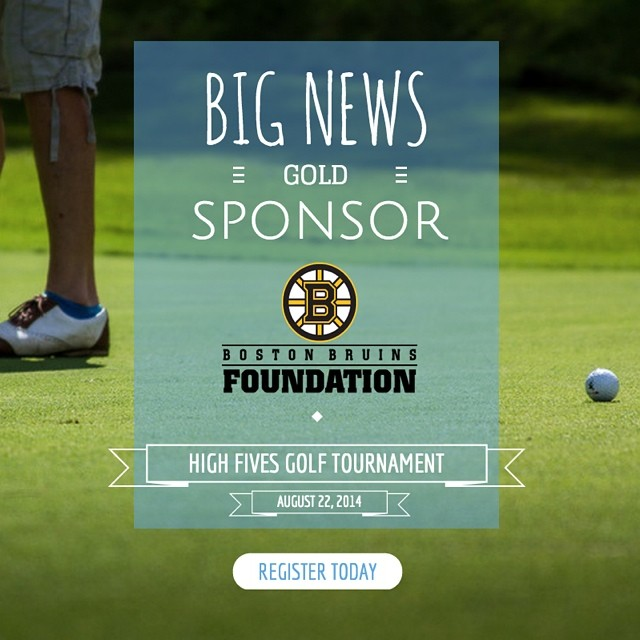 #High5ives to the Boston Bruins Foundation | Gold Sponsor of the 2nd Annual East Coast Golf Tournament (Fri. Aug. 22 at the @sugarbush_vt Golf Club)! Only 12 team spots remain - register TODAY (info in profile). #BostonBruinsFoundation