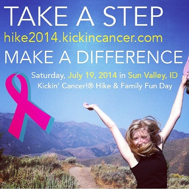 Plans for this Saturday? Join us in hiking to fight women's cancers at  the @lynnecohenfoundation 2014 Kickin'Cancer Hike and Family Fun Day! #kickincancer #givesyoupurpose