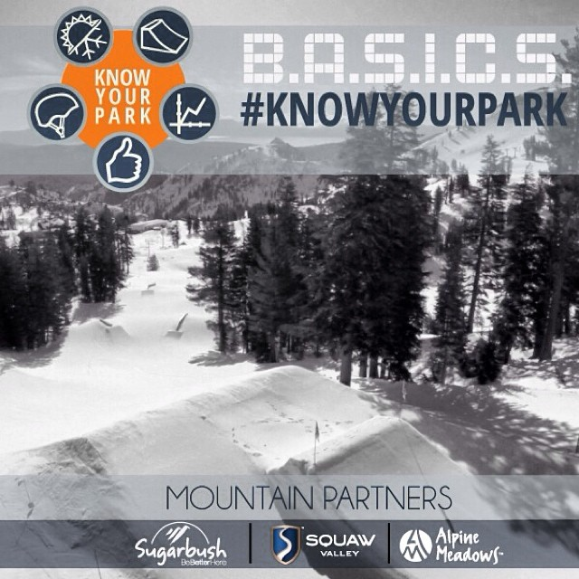 Thank you very much to @squawvalley | @skialpine and @sugarbush_vt for supporting #KnowYourPark! Join the contest and win BIG.