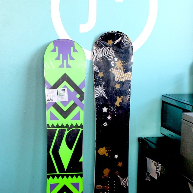 Do you want these brand new snowboards from @k2snow and @nitrousa? You can by coming to our #STOKEDIgniter NYC Kick Off Party next Thursday July 24th! Igniters free, all others $10 for a raffle tix for an item like these + a Lagunitas Brew! (21+) Get...