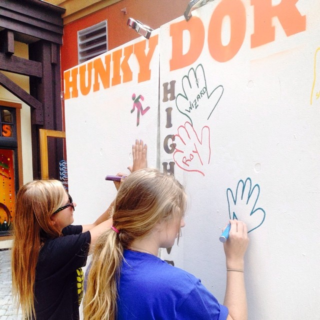 Head to the Village at @squawvalley today through Sunday during @wanderlustfest, sign the Everything Hunky Dory Graffiti Wall for someone you know that's been injured and help support #HighFivesAthletes at the @hi5sfoundation booth with a donation for...