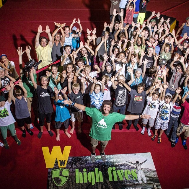 #High5ives to Guest Coach @dannytoumarkine for a great Thursday at @woodwardtahoe with all the RAD campers! Thanks @tuckernorred for the