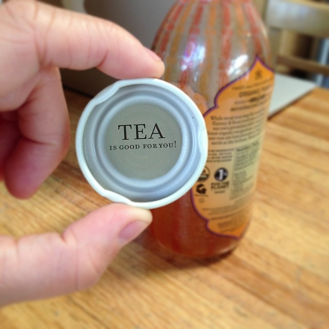 Cheers to #1percentftp member @HarneyTeas for powering us through the week #tgif #thisistea #giveback