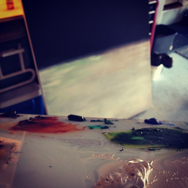 Werk. #oil #abstraction #minimal #ambrosial