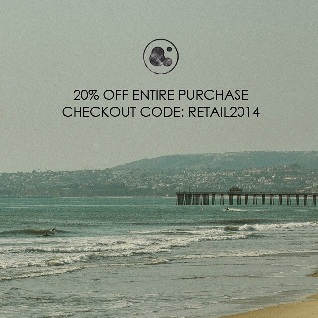 20% off your entire purchase all month long at ambig.com! Use checkout code: RETAIL2014 #ambigclothing #summersale