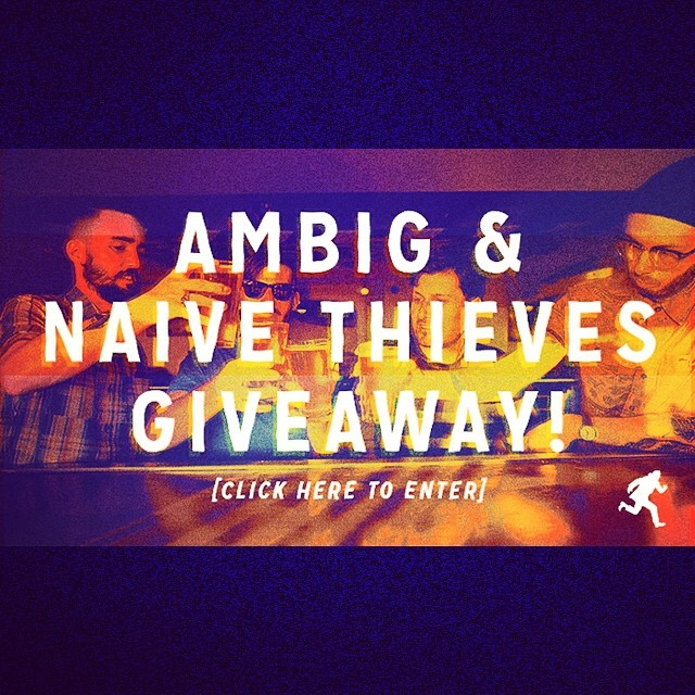 Last week to win a bunch of ambig gear and some Naive Thieves merch!! Go to ambig.com to enter. We'll pick a winner this Friday! @naivethieves #ambigclothing #giveaway