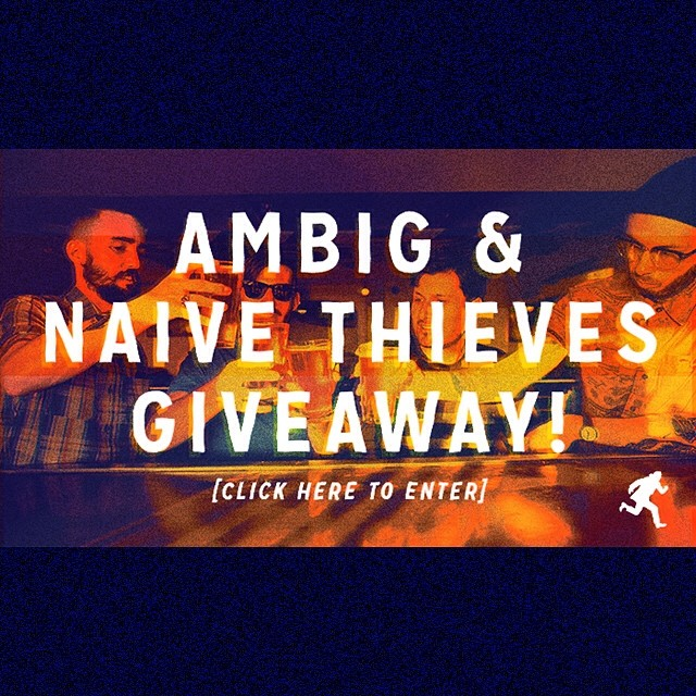 Our pals @naivethieves just released a new album...and it's really really good! The dropped some off the other day so we thought we'd give some away along with some ambig clothes. Go to ambig.com to enter to win! #ambigclothing #naivethieves #jams