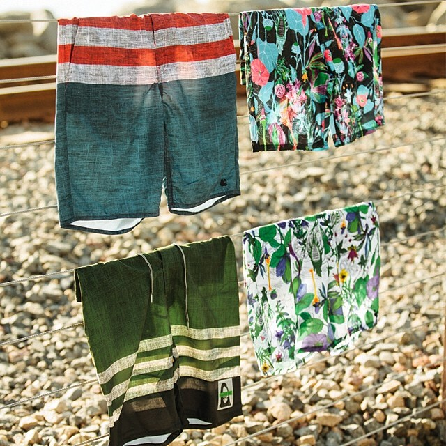 New boardies available in stores and over at ambig.com just in time for summer! #ambigclothing #boardies