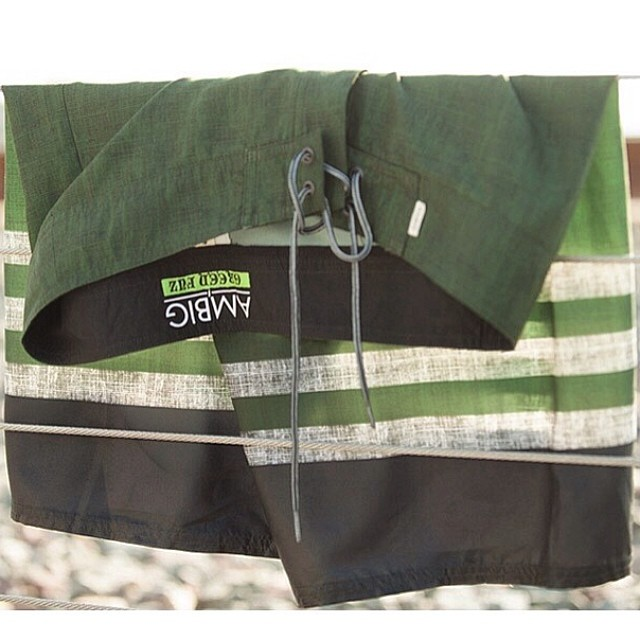 New Ambig X Green Fuz boardshorts. Available online and in stores now! Just in time for summer... @greenfuzsurfco #ambigclothing #surftrunks #digthefuz