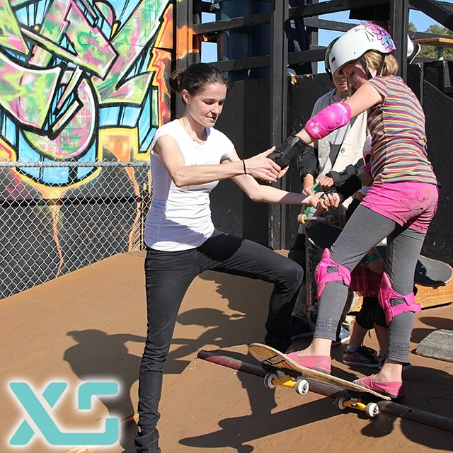 Friday Fact: Did you know that EXPOSURE offers free learn-to-skate clinics for all ages and abilities? Stoked that this year's clinics will be sponsored by @xshelmets! Come skate with us!