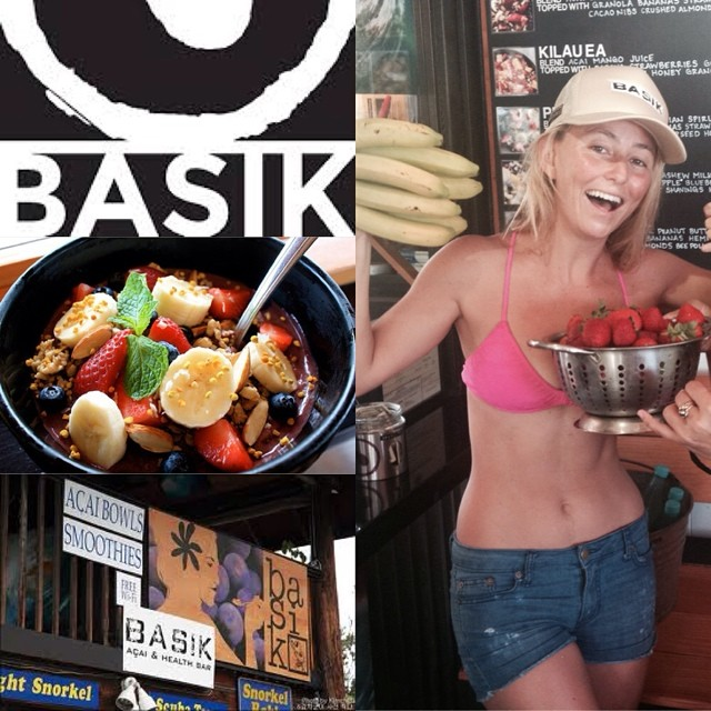One of the best parts of being home is eating local! Best Acai bowls in Kona @basikacai #acai #health #ohana