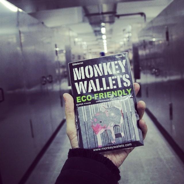 #monkeywallets #tyvek #factory @monkeywallets