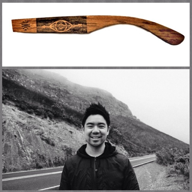 Meet Daniel Ting Chong from South Africa. He's one of the many artists involved in our #kickstarter campaign #boskyoptics #sunglasses #art