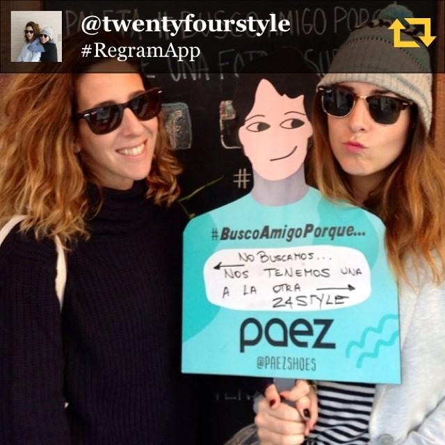RG @twentyfourstyle: No te pierdas en Páez el día del amigo llévate un par para vos y otro para quien quieras! #buscoamigoxq #paezselfie #diadelamigo #regramapp