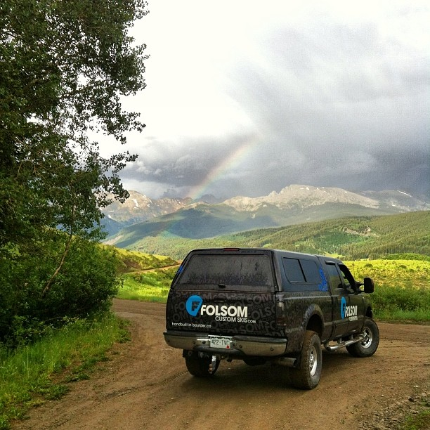 It's the weekend, hope everyone is out seizing the day!  #colorado views never get old.