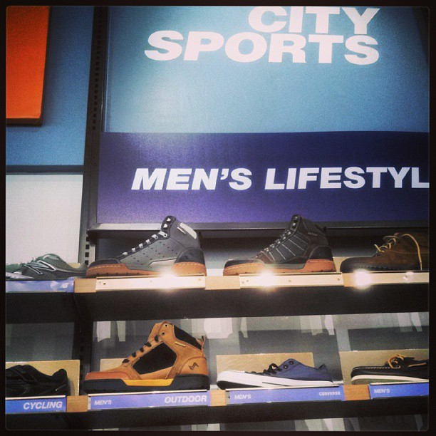 Lookin good at @citysports in Chestnut Hill, MA!