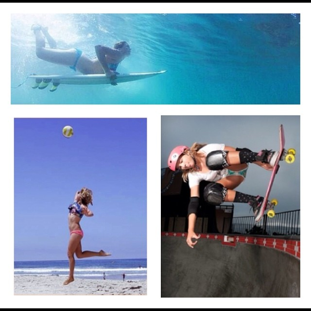 @jordynbarratt loves sea, land and sky. Good luck Jordyn at the #Huntington Beach Bowl Contest! #jordynbarratt #xsteam #xshelmets #girlswhoshred #skateboarding #surf #beach #pinkhelmetposse