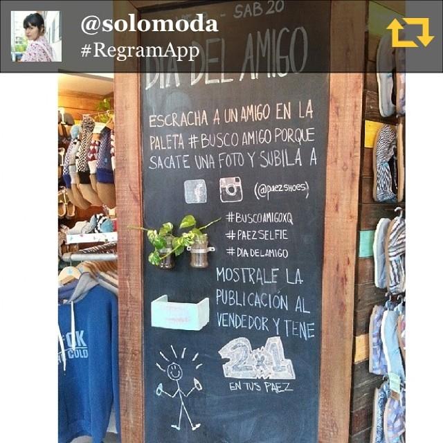 RG @solomoda: Con @little_solomoda pasamos por el local de @paezshoes nos llevamos paez para compartir este día del amigo 2x1 ♡ #fashion #fashionblogger #streetstyle #love #argentina #blair #regramapp