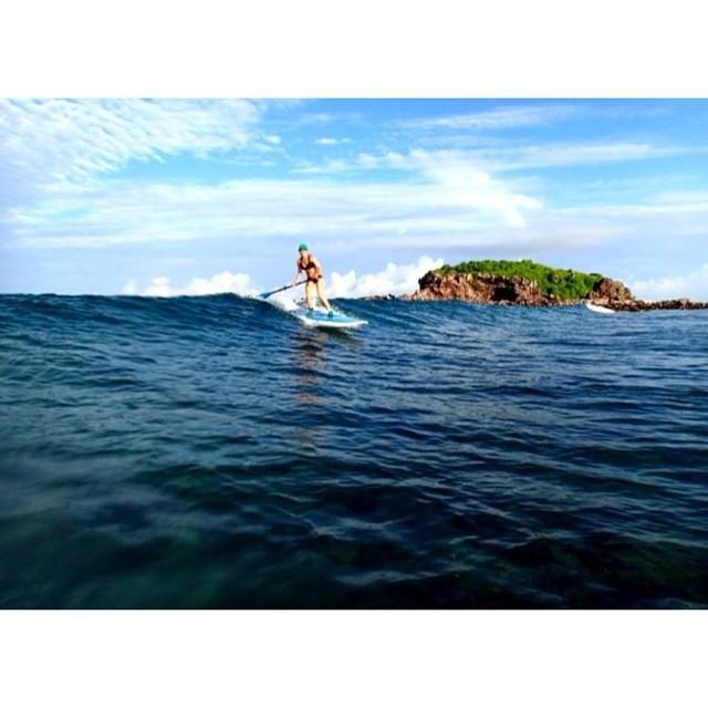 Jessica Cichra of @waveofwellness has been charging down in Mexico at the Punta Mita Beach Festival! #localhoneydesigns #jessicacichra #waveofwellness #boardworkssurf #puntamita #waves #olas #sunshine #yoga #bikinis #love