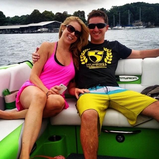 @warrenvigus rocking the #highfivesfoundation gear in North Carolina
