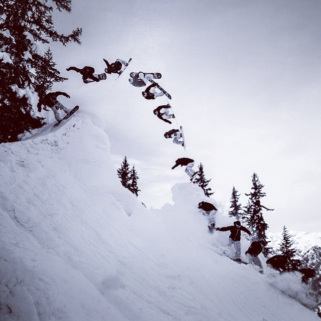 Más nieve, por favor Markus Keller por Vernon Deck #snowvans