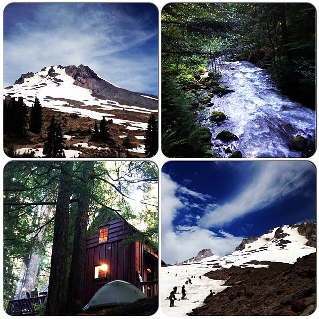 Summer time on #MtHood . There's few places like it. #PNW #SummerShred #Camping #CabinLife #TheGreatOutdoors .