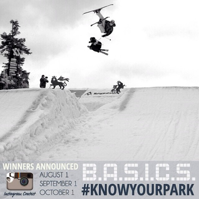 #KnowYourPark || Show us that you are aware of ALL elements in the terrain park (from features, take-offs, landings, speed and how others are hitting them)! @pocsports @snowparktech @squawvalley @skialpine @sugarbush_vt